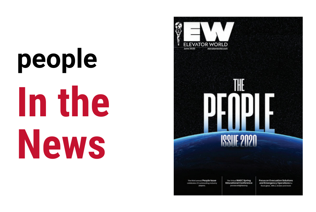 Elevator World People Issue